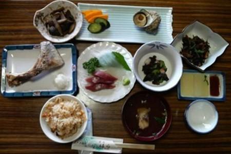 Fishermen's dish (Minshuku Hara (inn))
