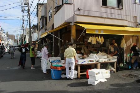 Namamugi Fish Market Street