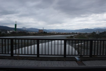 사카이 강 자전거 산책로