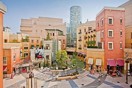 LA CITTADELLA异国风购物广场