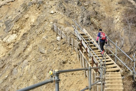 Tonosawa Omote-one Bergrückenwanderung
