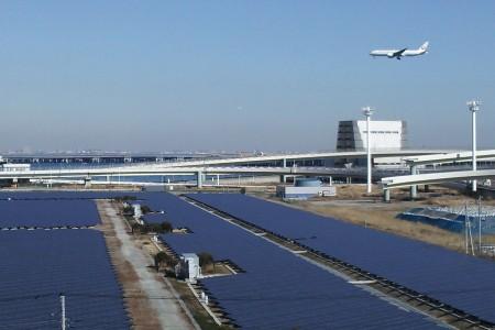 Mega Solarkraftwerk Kawasaki
