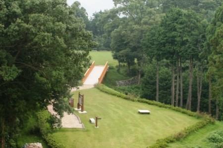 Le parc historique du château de Kawamura
