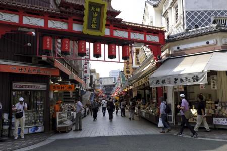 Kawasaki Daishi (Nakamise Straße)