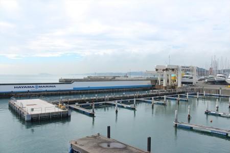 Hayama Yachthafen