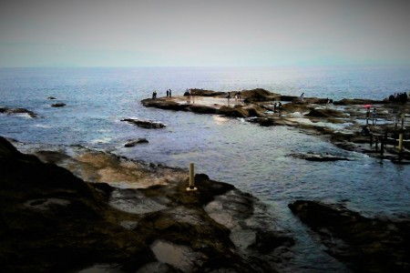 Sammle Schalentiere (Enoshima)