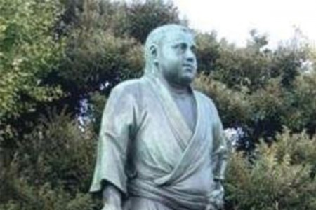 西乡隆盛铜像(上野公园)