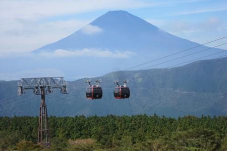 Le téléphérique d'Hakone