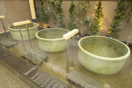 Suối nước nóng Gokurakuyu Mishima