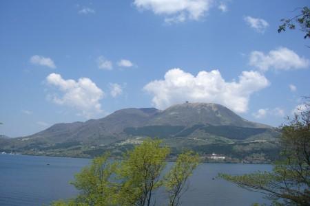 Pic du mont Komagatake