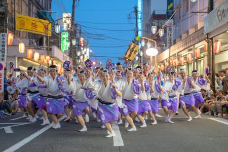 Festival Awa Odori de Yamato