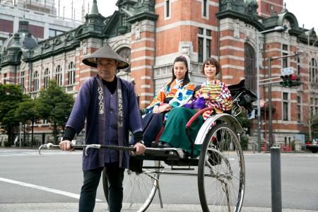 Yokohama OmotenashiyaRickshaw in Hama