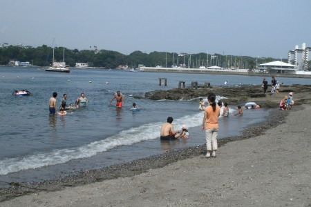 Bathing Beach (Araihama, Yokobori)
