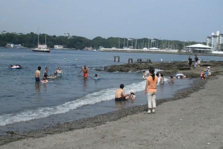 海水浴場(荒井濱、橫堀)