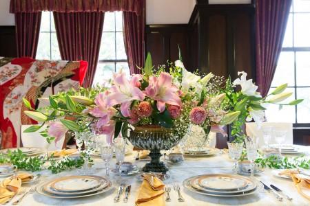 꽃과 그릇의 하모니(야마테서양관)