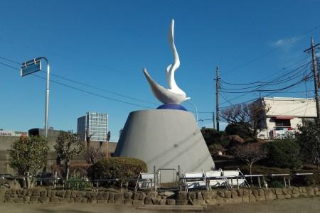 Bức tượng Okamoto Kanoko (Mẹ của Okamoto Taro)