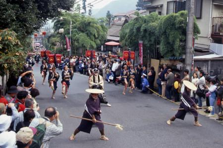 Hakone Daimyo Prozession