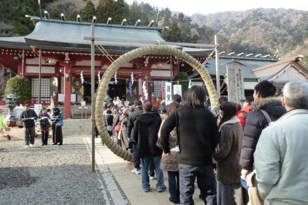 Japan Kulturerbe Zertifizierung (Oyama Schrein Besuch)