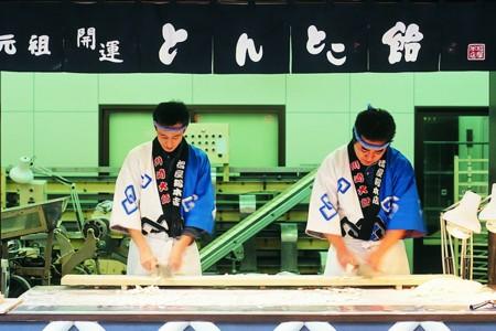 Candy cutting experience(Matsuya store)