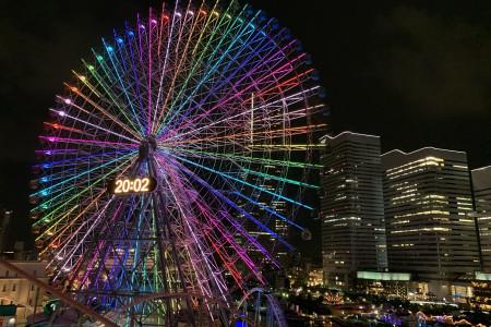 横滨摩天轮Cosmo Clock 21
