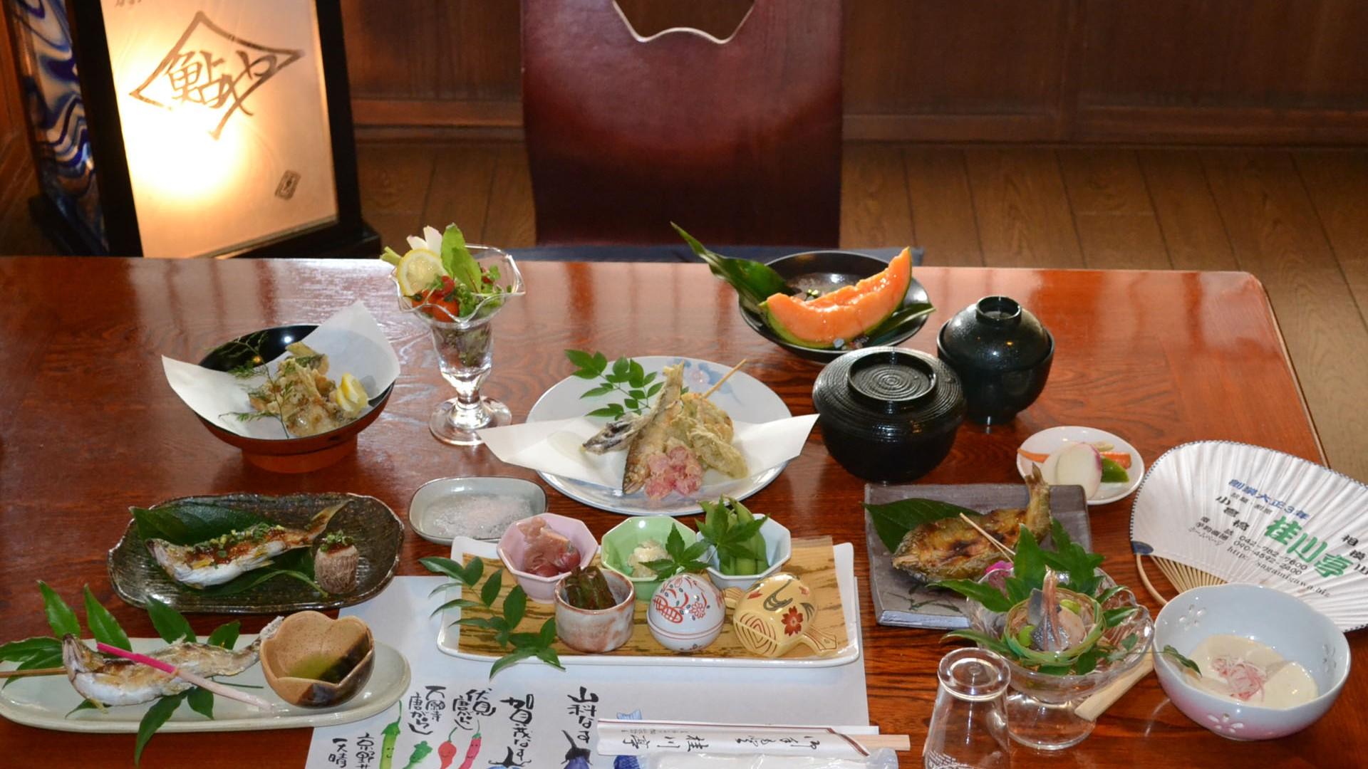 アユ料理「桂川亭」