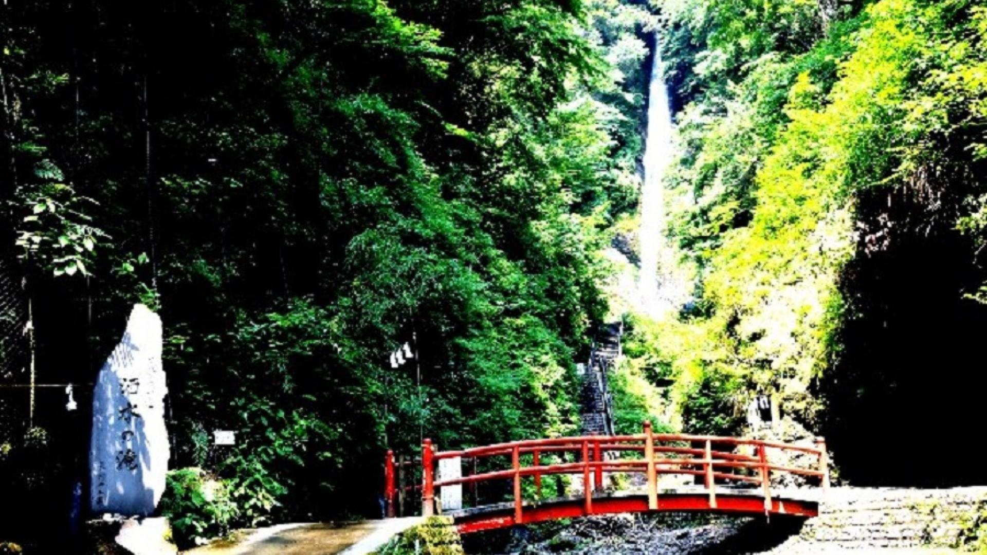 Shasui-no-Taki Wasserfall