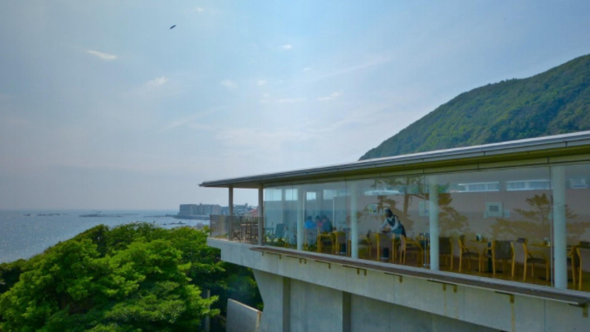 Orange Bleue (inside The Museum of Modern Art, Kamakura & Hayama)