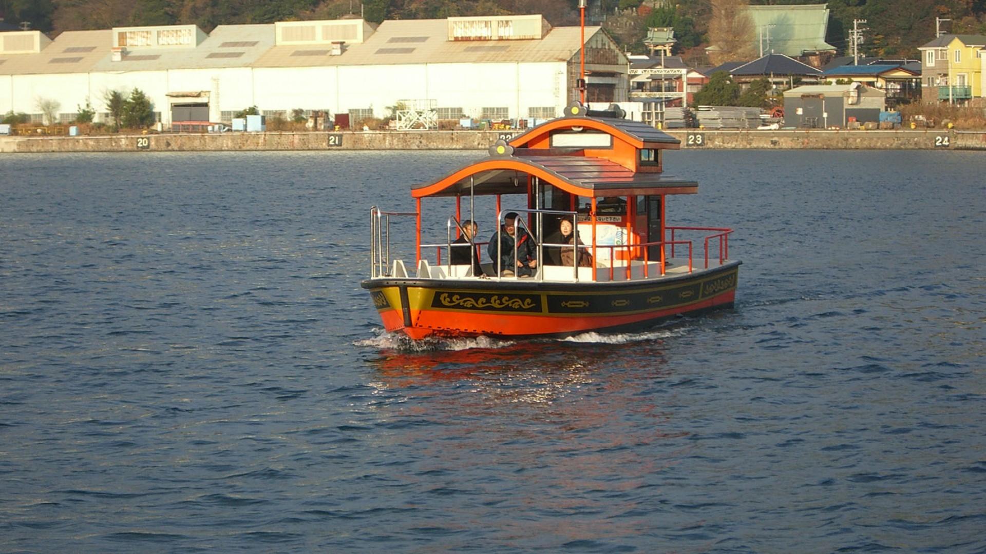 เรือข้ามฟากวะทะชิ-บุเนะที่อุระกะ