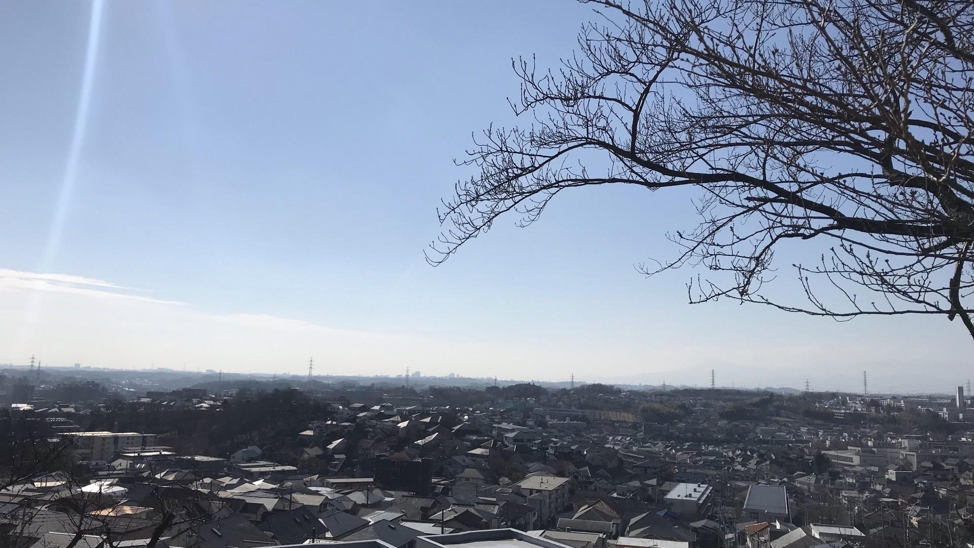 คะชิสะกะ (เส้นทางเดินในพื้นที่ตอนเหนือของอะสะโอะ-คุ ซึ่งมีวิวภูเขาฟูจิ)
