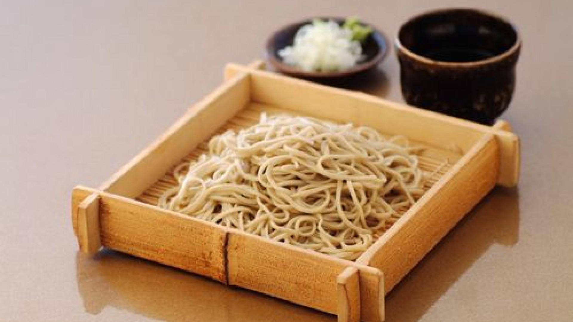 Hakone Soba Mittagessen