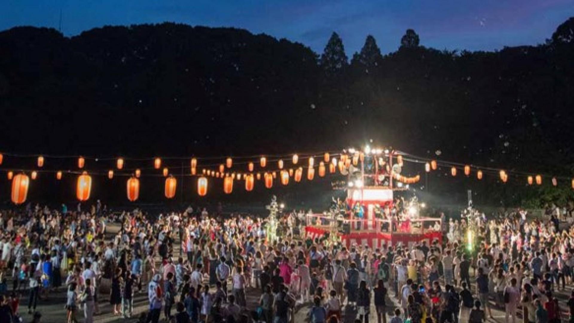 Sōji-ji Tempel Mitama Festival Bon Odori