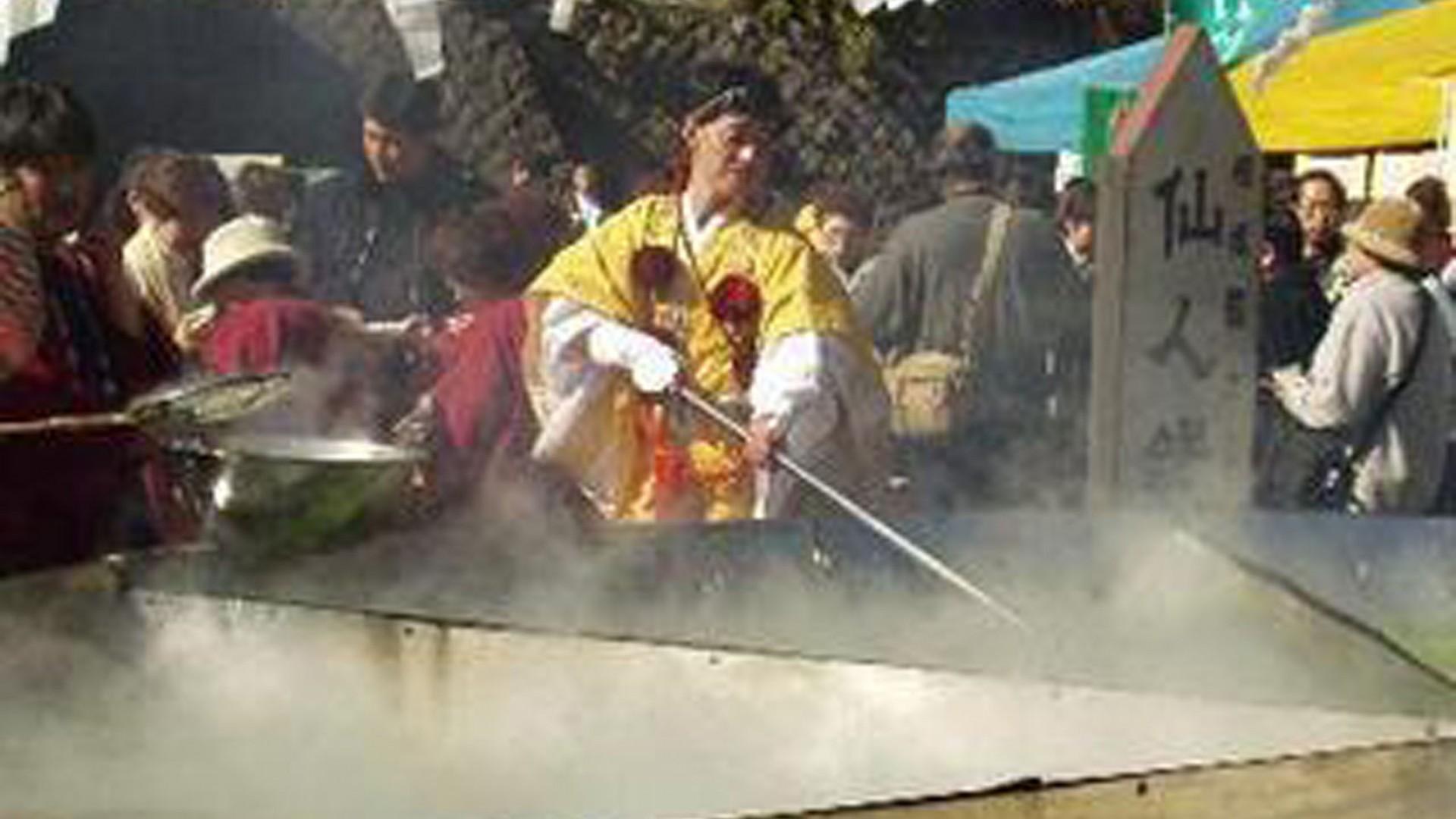 大山豆腐祭(大山例行活动)