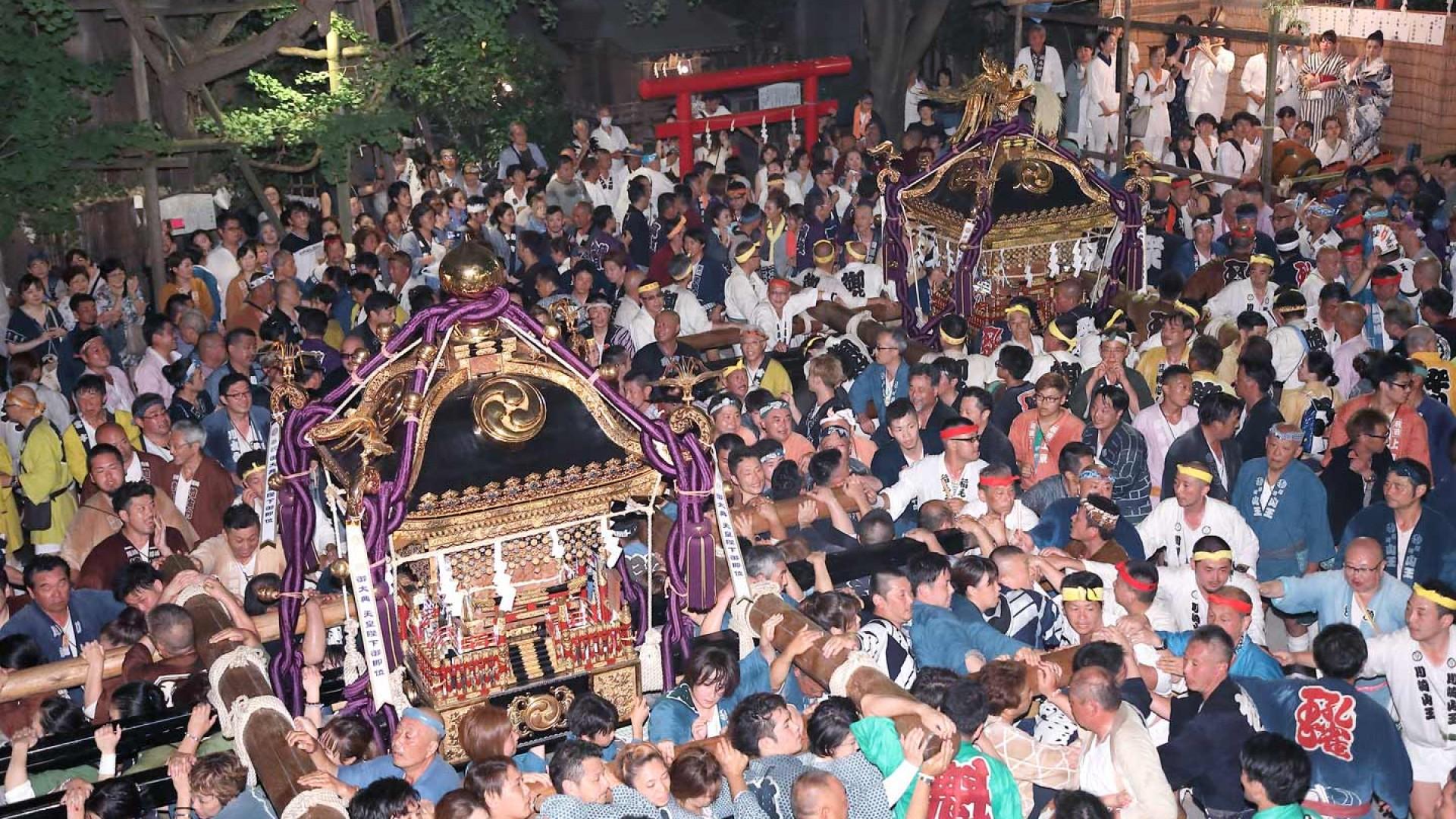 Le festival de Kawasaki Sanno