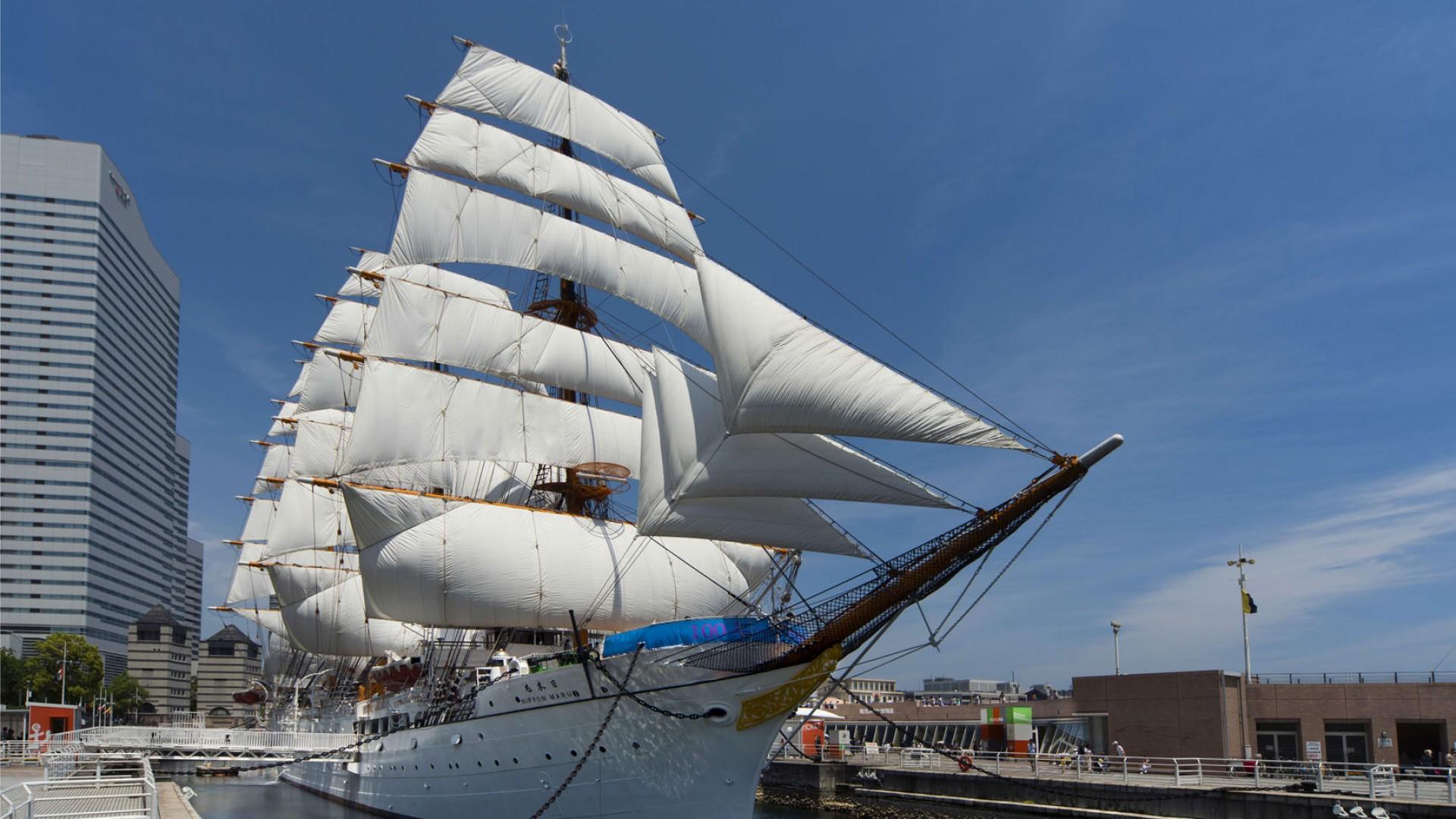 Công viên tưởng niệm Nippon Maru (Bảo tàng cảng Yokohama Nippon-Maru )