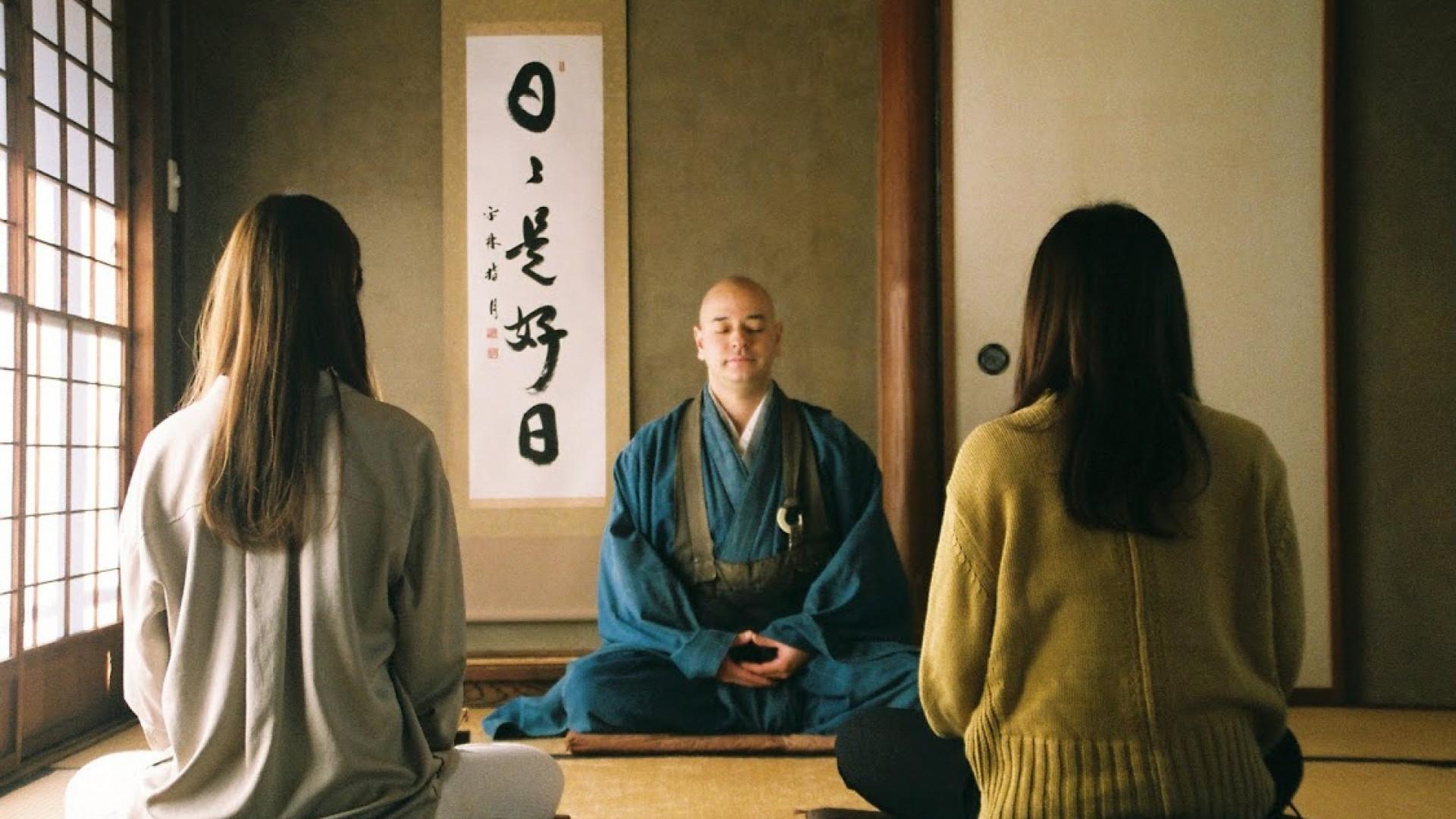 """Zazen-Erfahrung """"Fliegender Mönch"""" (Gansyuji Tempel, Daitokuji-Schule des Rinzai-Zen-Buddhismus)"""