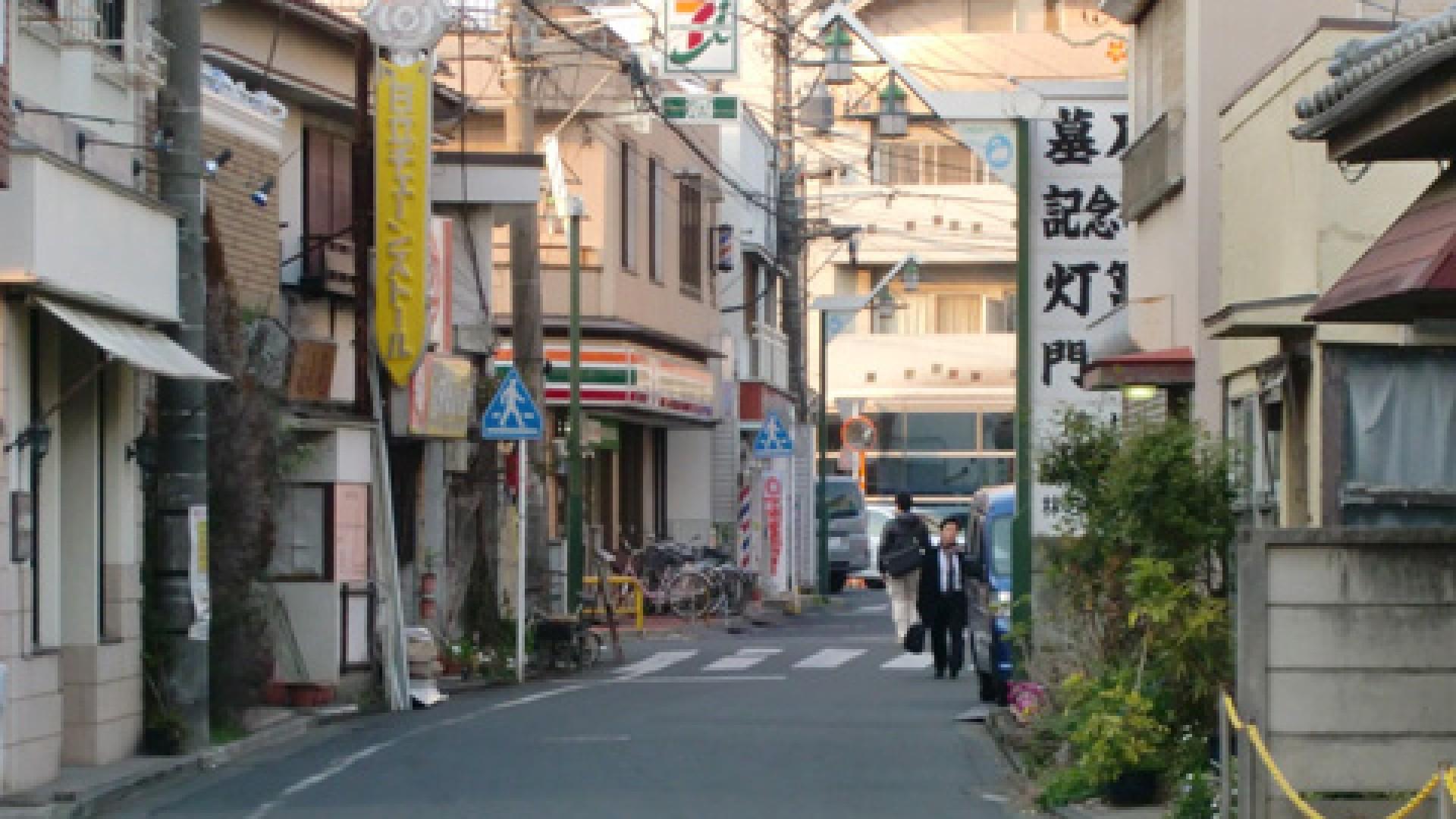 Honkugenuma Shoutengai (Honkugenuma Arkade) Hasuike-dori
