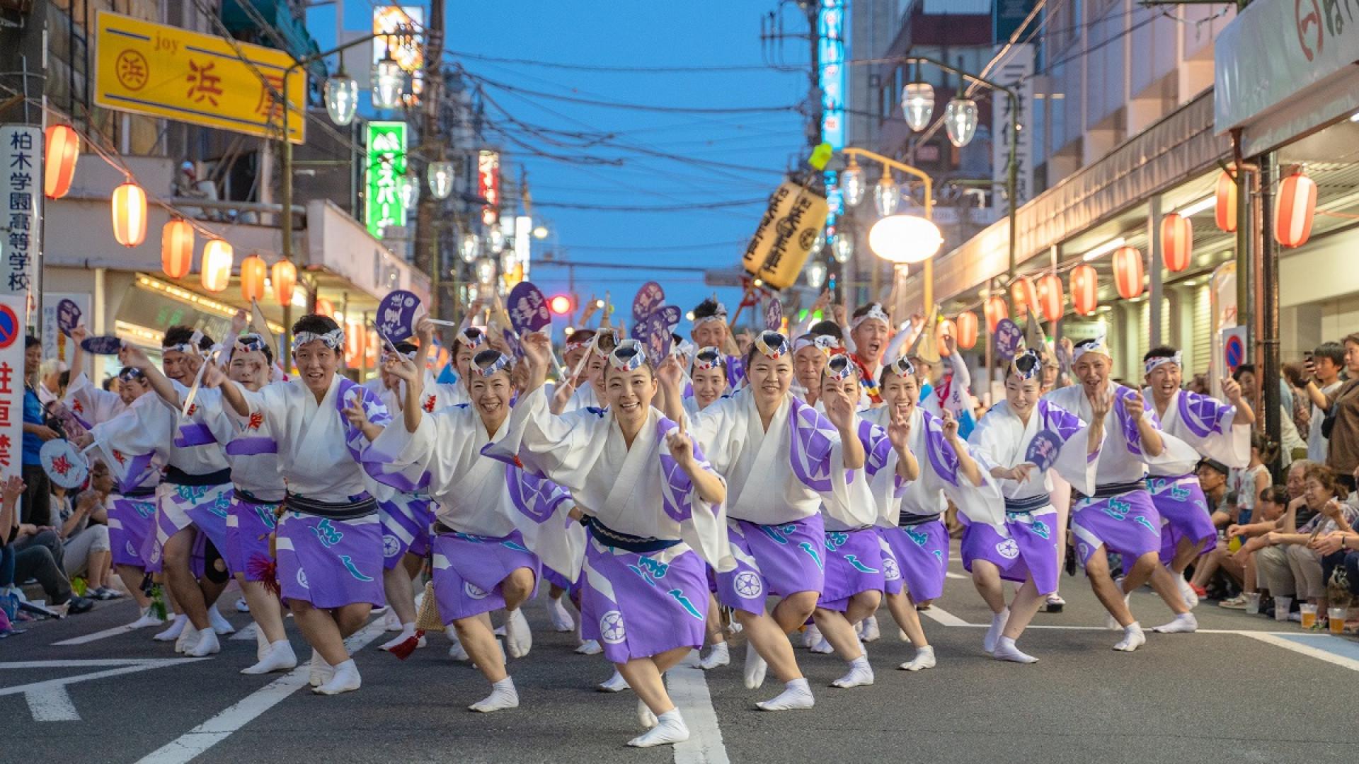 카나가와 야마토 아와 오도리