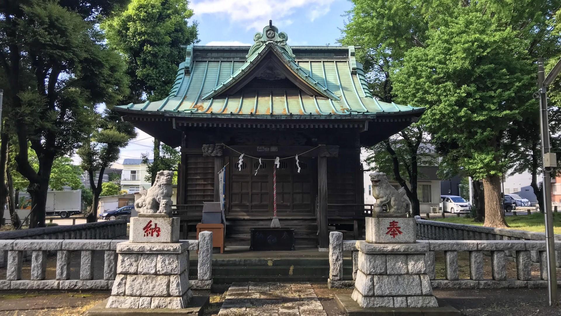 Le sanctuaire Wakamiya Hachimangu