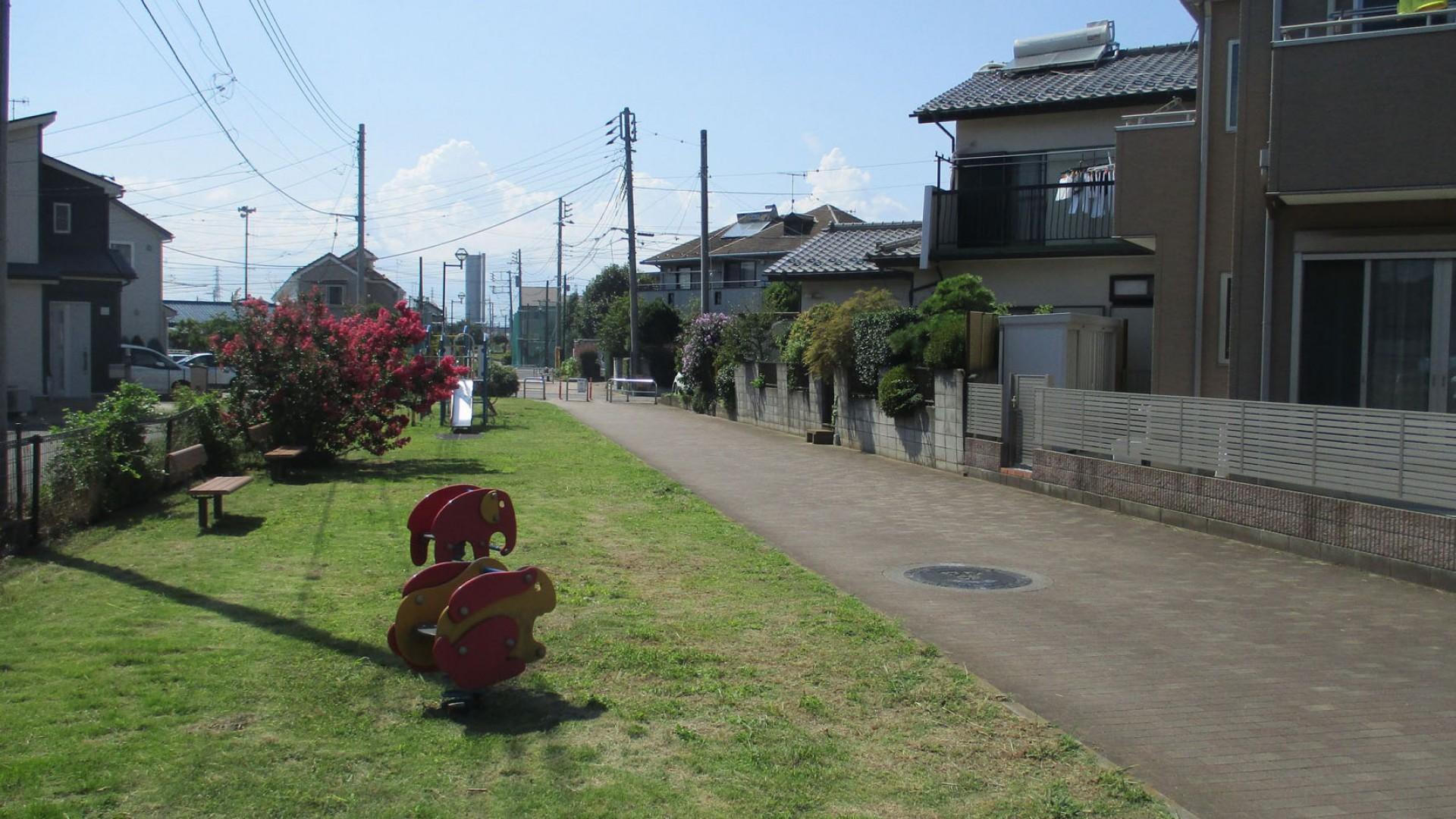 요코하마 수돗길 녹도