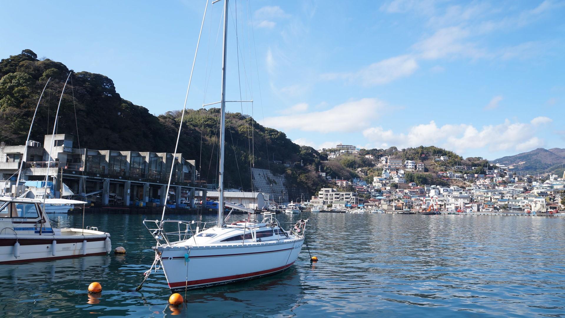Manazuru Hafen