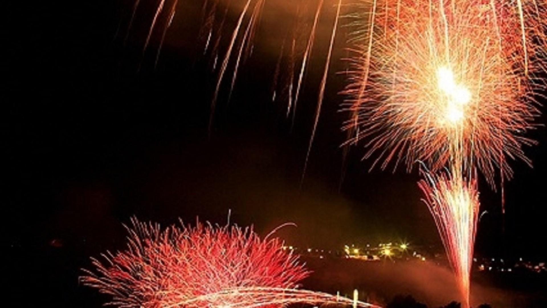 Lễ hội pháo hoa trên hồ Tanzawa