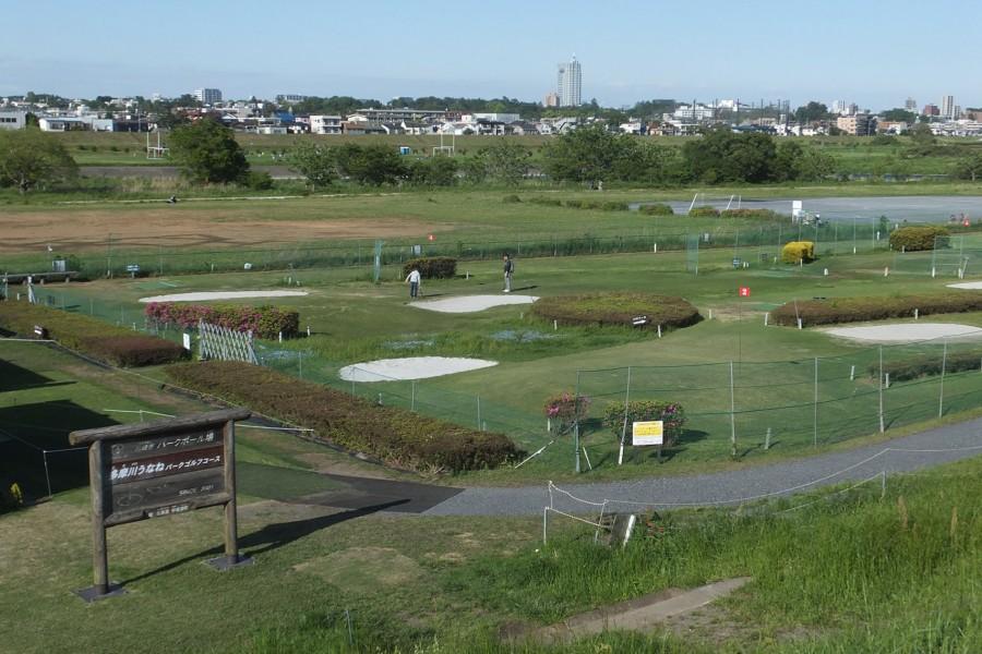 Chơi gôn tại công viên Tamagawa Unane - 2
