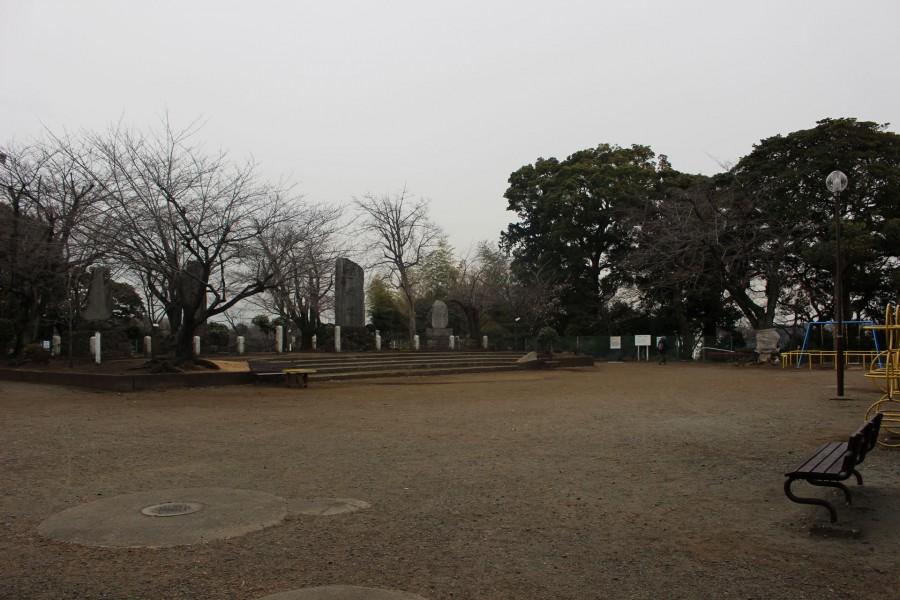 이세야마 공원에서의