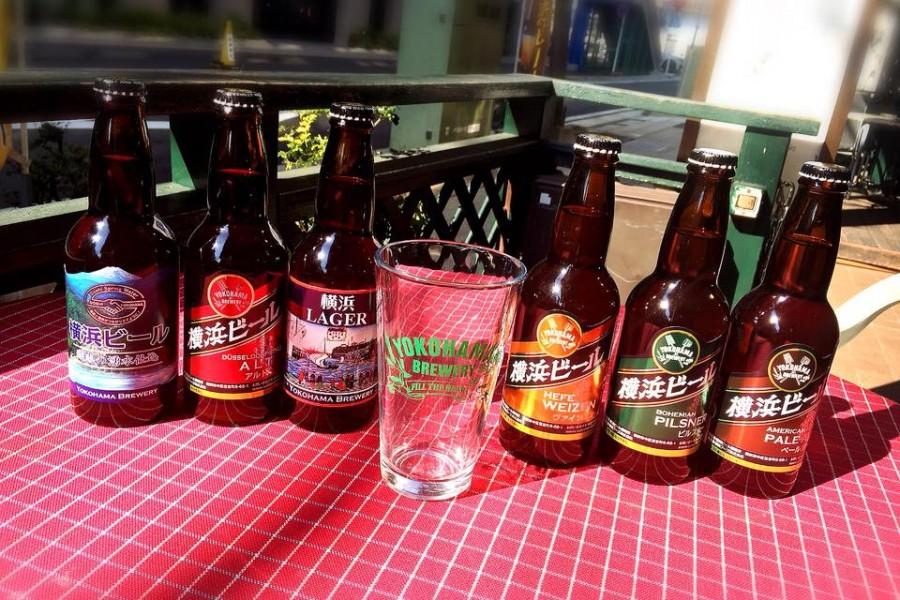 """요코하마 맥주""""에키노쇼쿠타쿠(역의 식탁)"""""""