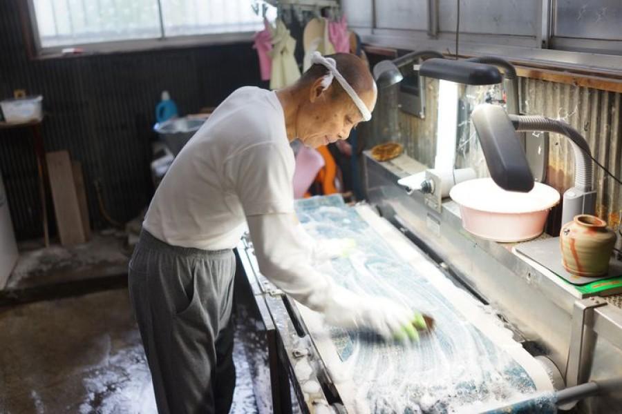 Expérience Kimono no Arai (Kimono Washing) - 2