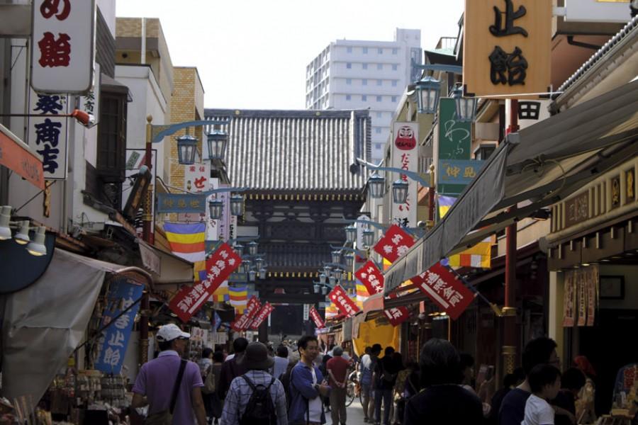 川崎大師(仲見世通り散策・たんきり飴) - 2