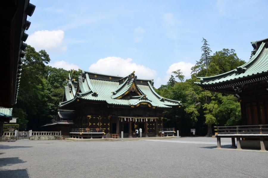 Le sanctuaire Mishimataisha - 1