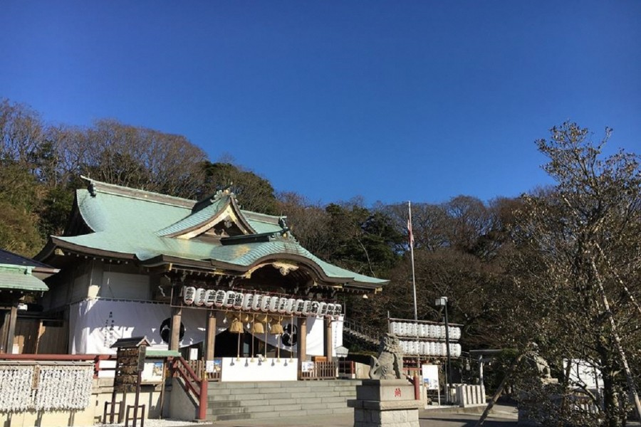 Le sanctuaie Honmoku - 1
