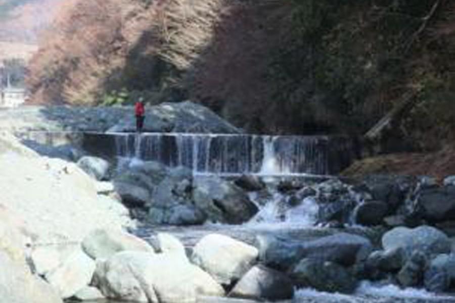 Câu cá hồi tại dòng nước trong ở Yadoriki  - 1