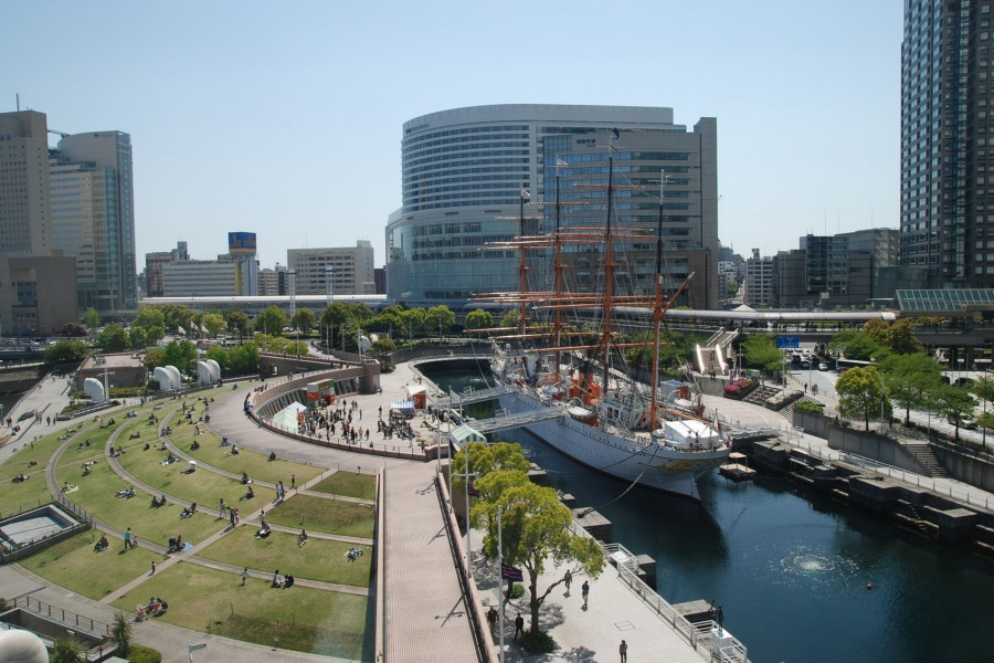 Nippon Maru Memorial Park (Sail Training Ship Nippon Maru / Yokohama Port Museum) - 2